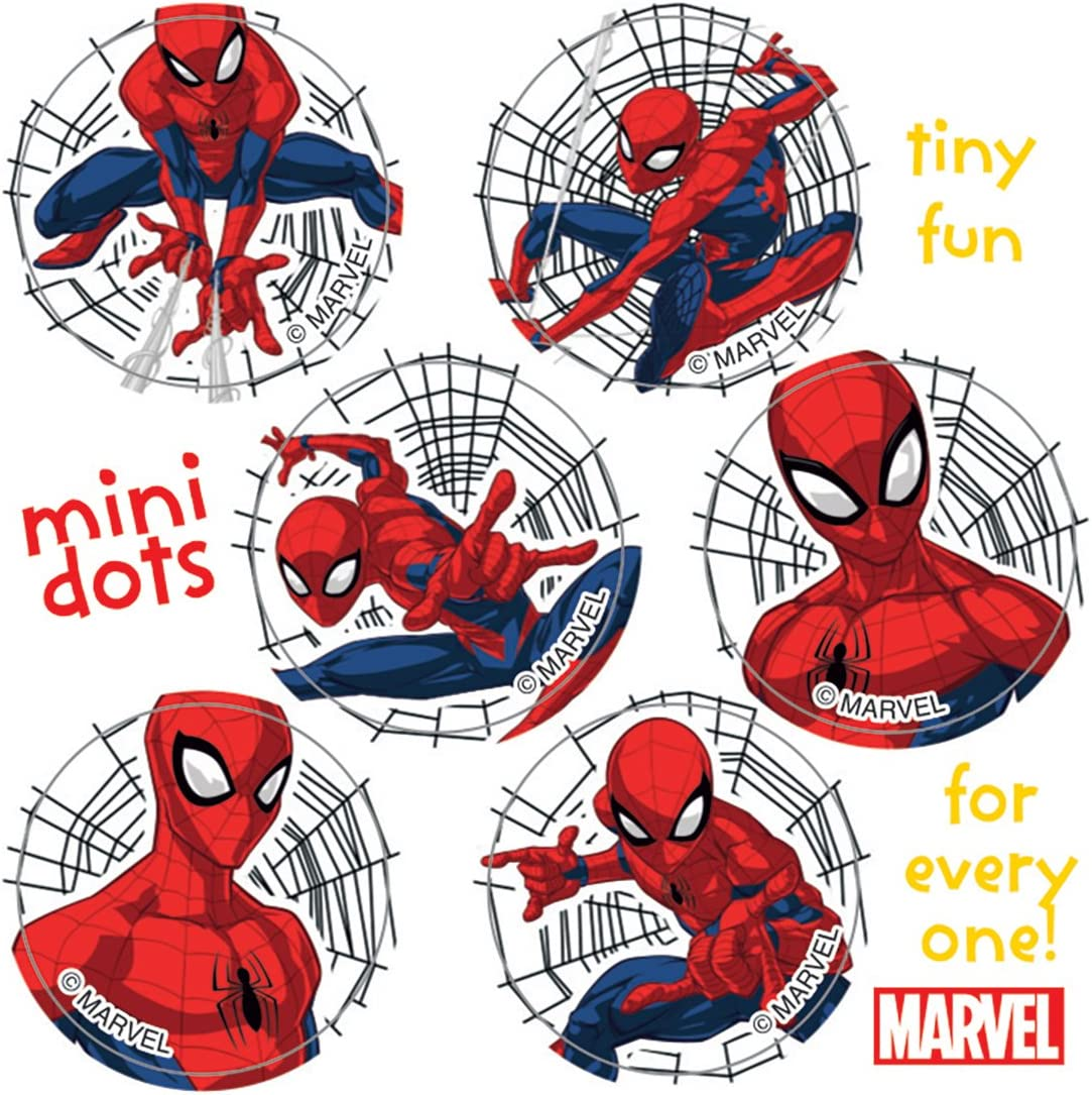 Spider-Man Mini Dot Stickers - Prizes and Giveways - 100 per Pack