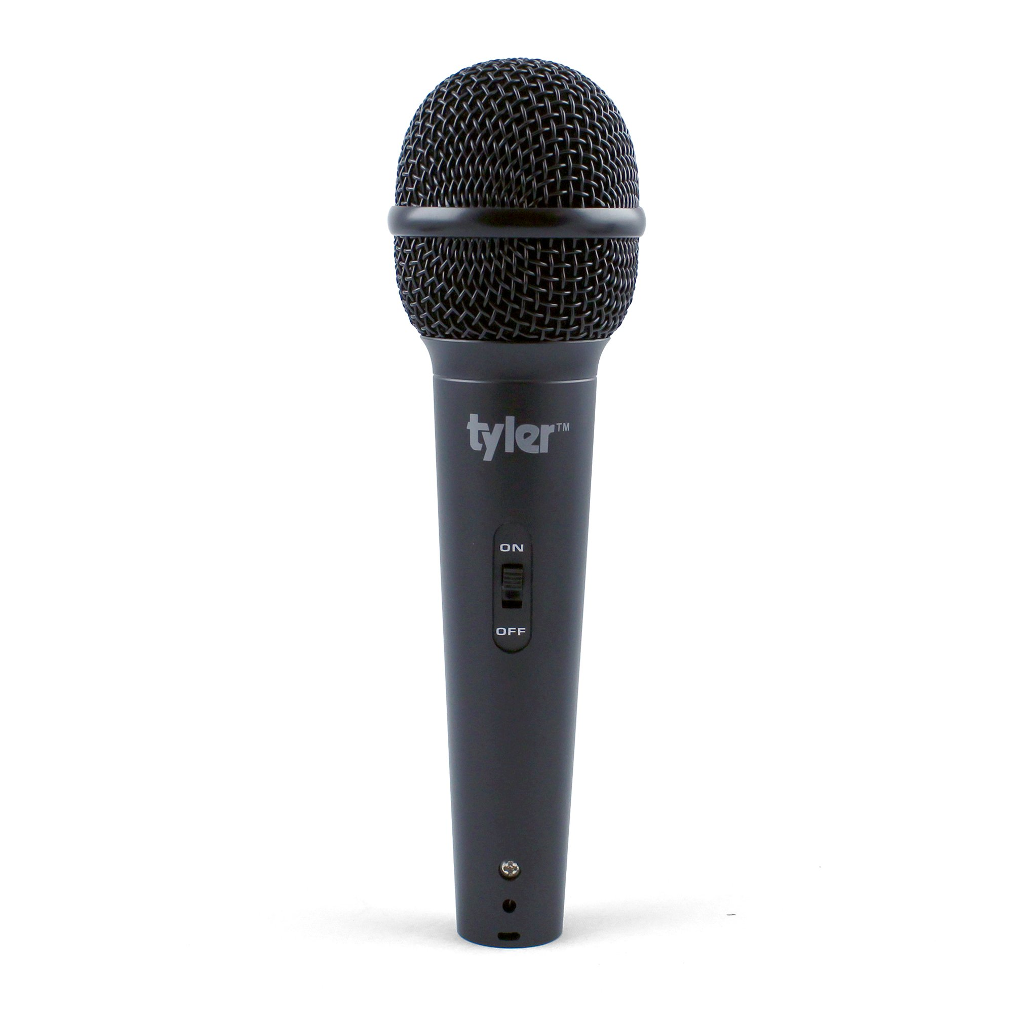 Tyler TMS304-BK Professional Moving Coil Dynamic Handheld Microphone - Black by Tyler