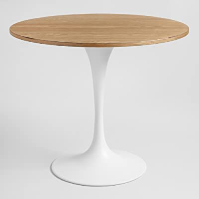 """Amazon.com - Modway Lippa 36"""" Square Wood Top Dining Table"""
