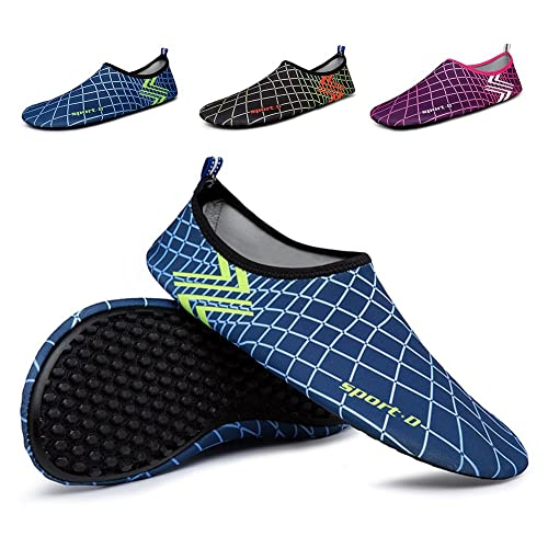 Men Women Water Shoes Quick Dry Lightweight Barefoot Shoes For Beach Swim Surf Yoga Exercise