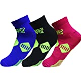 Plantar Fasciitis Socks with Arch & Ankle Support,(3 Pairs) Best Foot Care Compression Sock Brace Support, Eases Swelling & Heel Spurs, Relieve Pain Fast Increases Circulation