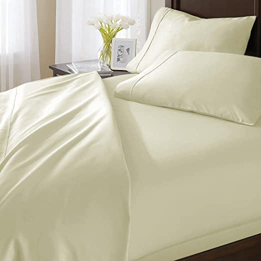 1000 Thread Count Egyptian Cotton Deep Pocket Bedding Items Queen Size All Color