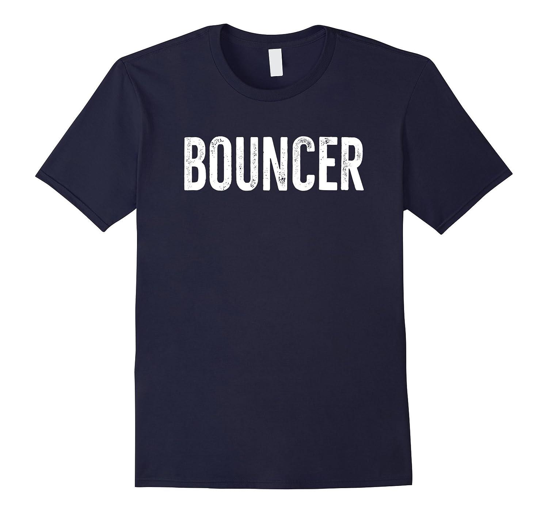 Bouncer T-Shirt Retro Distressed Grunge Design-PL