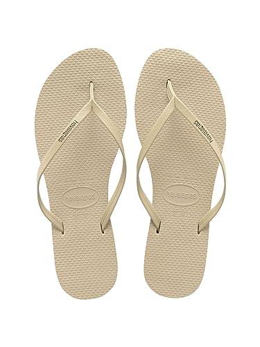 40376139d Womens Havaianas YOU Sand Grey Flip Flops Sandals  Amazon.co.uk ...