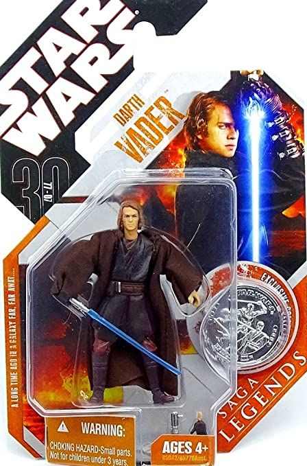 Star Wars Saga Legends Darth Vader Revenge Of The Sith Action Figure Amazon Com Mx Juegos Y Juguetes