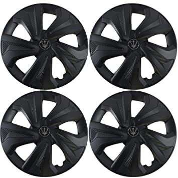 UKB4C Set of 4 15 Silver Wheel Trims//Hub Caps fits Renault Clio Megane Scenic