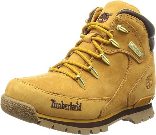 mejor calidad orden conseguir baratas Timberland Euro Rock Hiker, Botas de piel Para Niño: Timberland ...