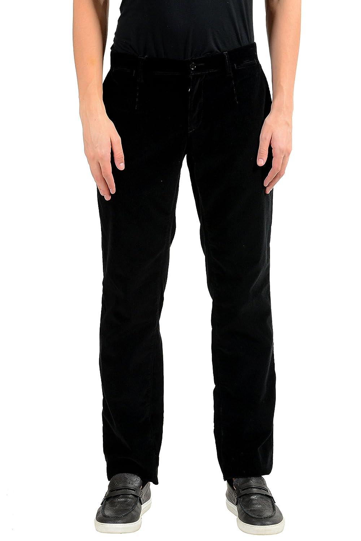 Dolce & Gabbana メンズ コーデュロイカジュアルパンツ B0784SWWHZ  ブラック US 42 IT 58