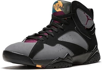 incondicional emoción ventana  Nike Air Jordan 7 Retro, Zapatillas de Deporte para Hombre, Negro/Gris/Rojo  (Black/Brdx-Lt Grpht-Mdnght FG-), 48 EU: Amazon.es: Zapatos y complementos