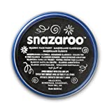 Snazaroo Face and Body Paint, 18 ml - Black (Individual Colour)