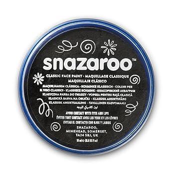 Snazaroo - Pintura facial y corporal, 18 ml, color negro: Smiffys: Amazon.es: Juguetes y juegos