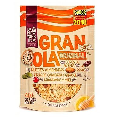La Newyorkina, Cereal granola - 5 de 400 gr. (Total 2000 gr.)