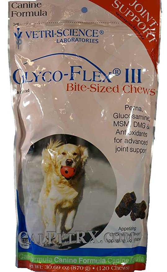 Amazon.com: glyco-flex III Soft Chews 120 ct: Mascotas