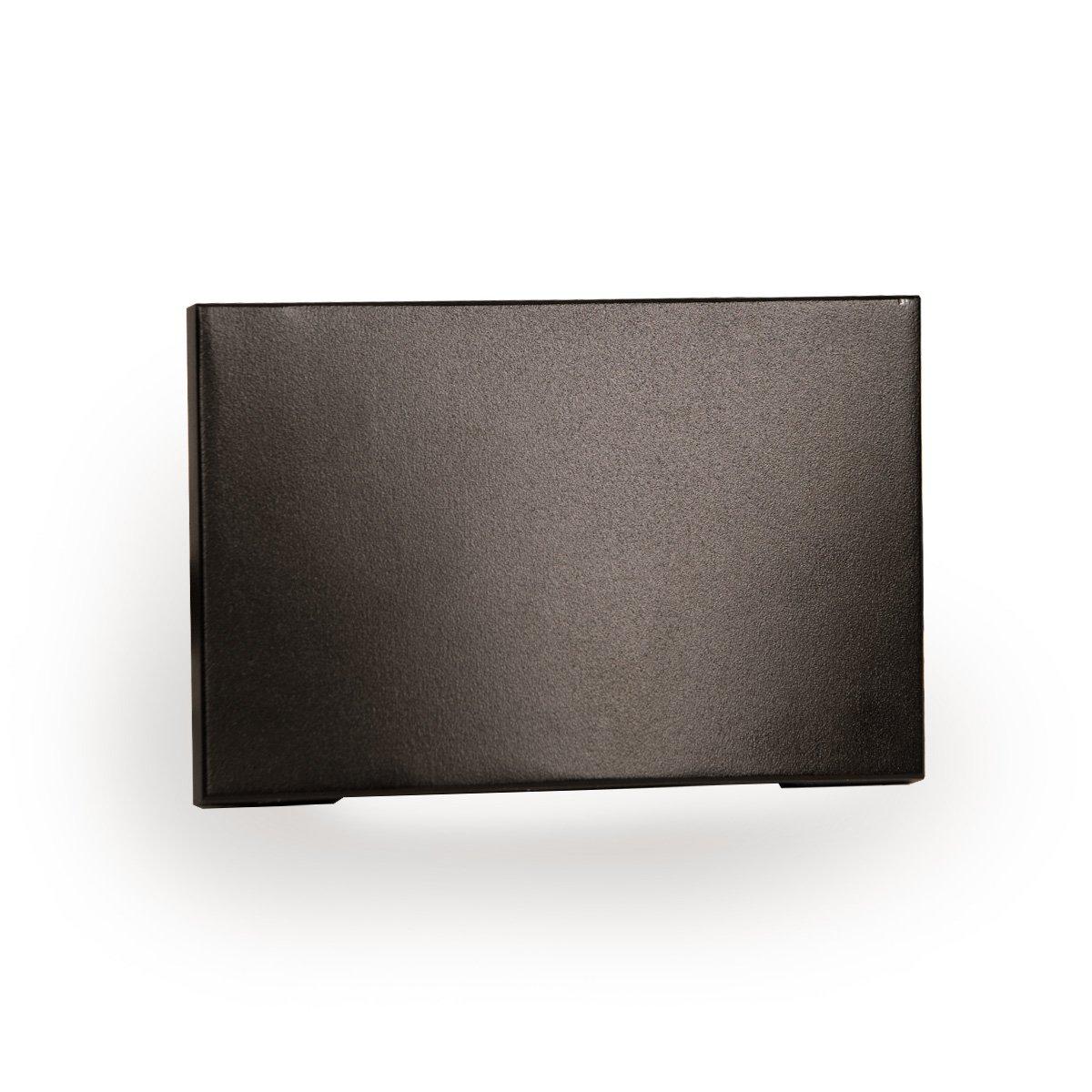 WAC Lighting WL-LED110-C-BZ LED Horizontal Scoop Step and Wall Light 120V 3000K, Bronze