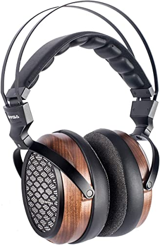 SIVGA P- Over Ear Open Back Walnut Wood Planar Magnetic Headphone