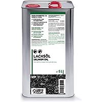 GreenPet Aceite de salmón 5 Litros para Perros, Gatos y Caballos, ácidos grasos omega-3, producto puro 100% natural…