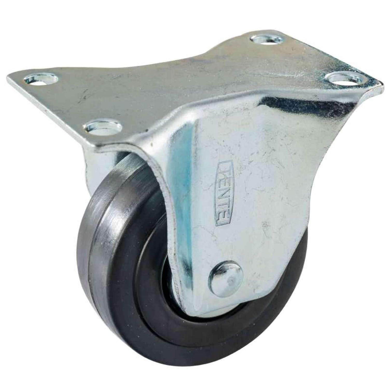 Roulette fixe 50 mm sur Platine