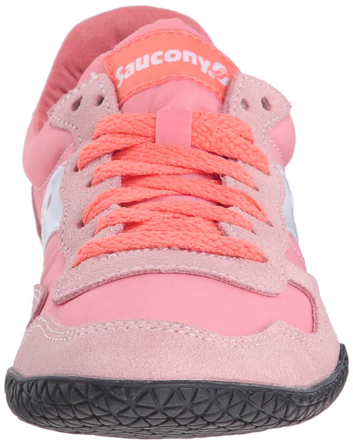 Saucony Sneaker Originals Women's Bullet Sneaker Saucony B00XV9XRL6 6.5 B(M) US Coral 30076c