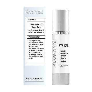 Amazon Com Vernal Eye Gel Treatment Antioxidant Rich Vitamins C