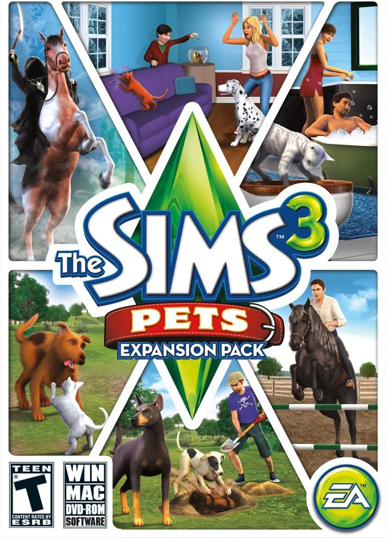 Electronic Arts The Sims 3 Pets, PC - Juego (PC, PC, Simulación, T ...