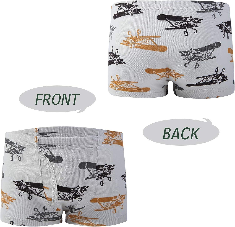 Taxzode Boys Boxer Briefs Shorts Cotton Baby Toddler Underwear for Kids Boy 6//8 Pack