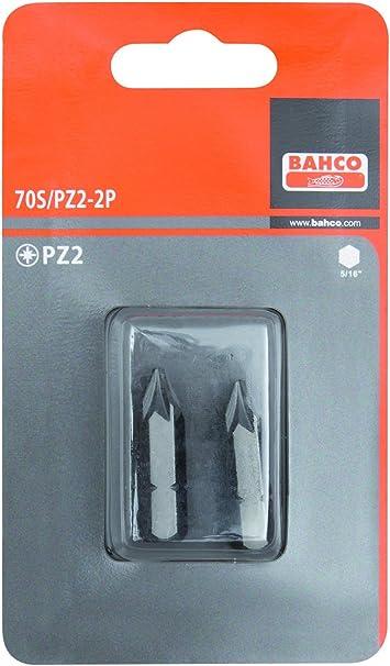 Bahco 70S//PZ1-2P 2XBITS PZ 1 32 MM 5//16