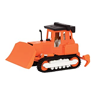 DRIVEN by Battat - Micro Bulldozer - Detailed Toy Bulldozer with Movable Parts and Realistic Sounds for Kids Age 4+