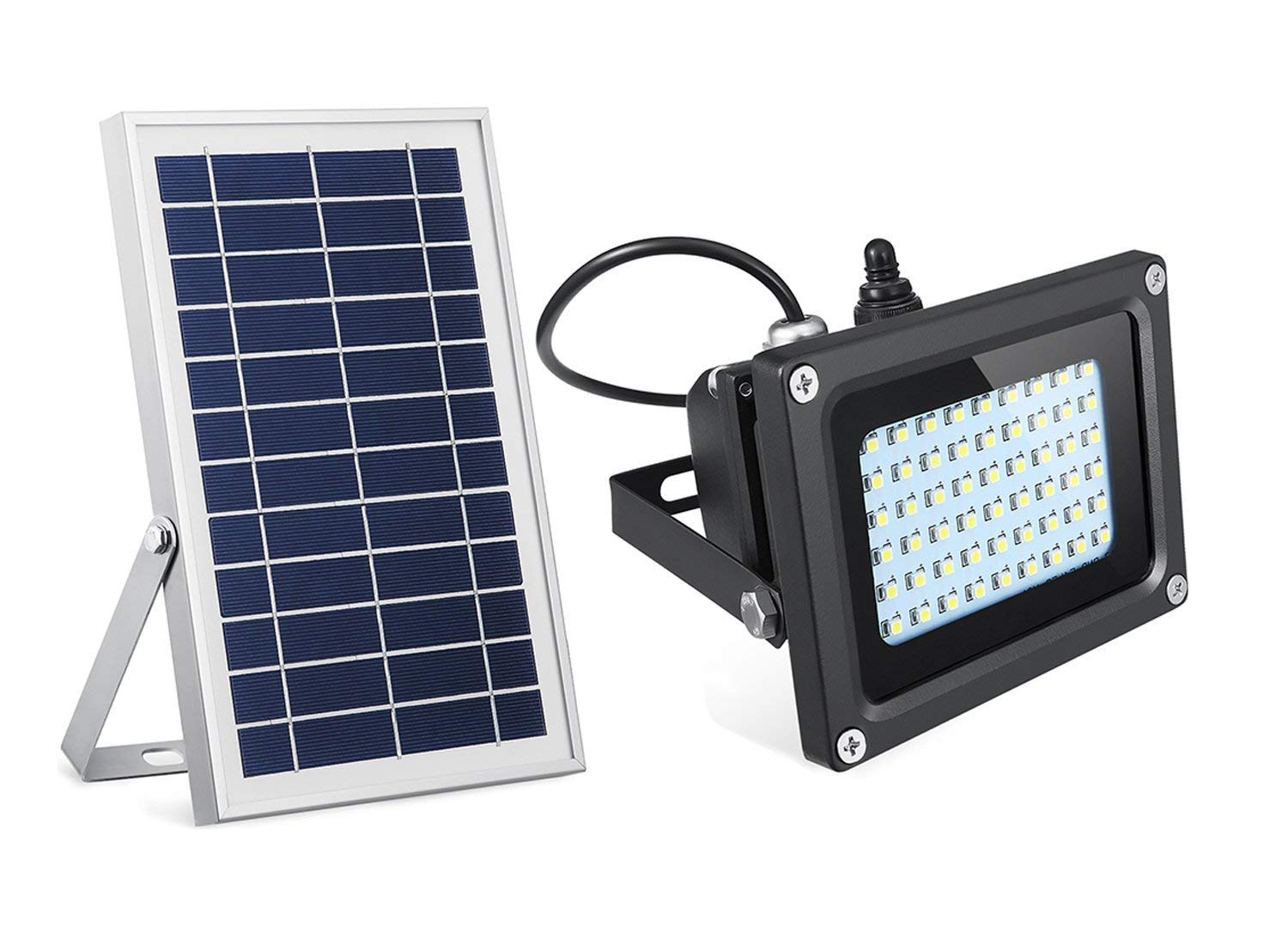 経典ブランド SeminTech Solar Flood Lights 54 LED 500 Lumens 6W