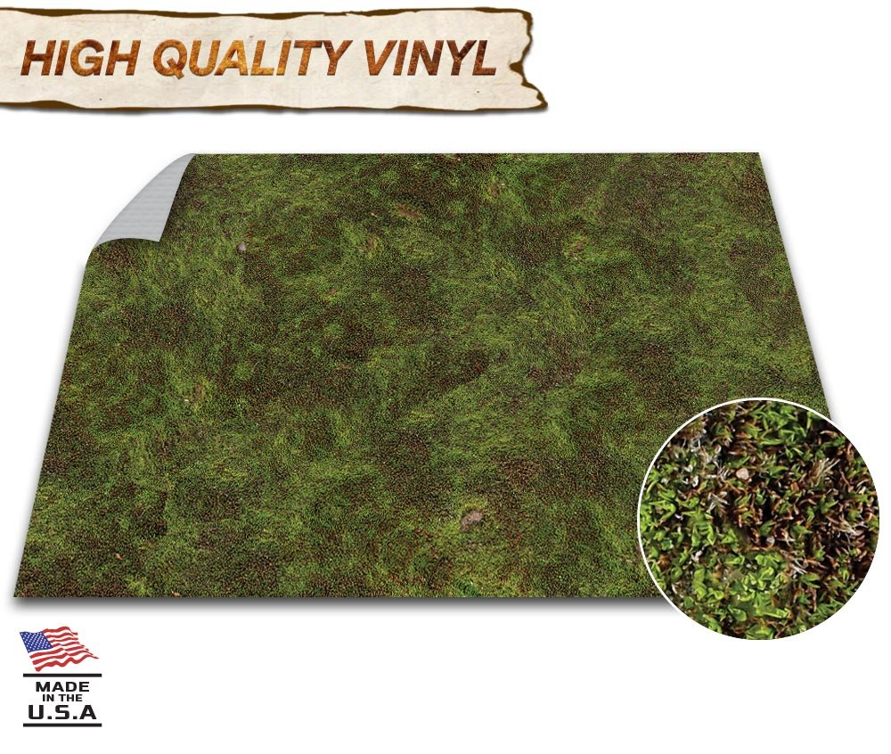 Battle Grid Game Mat - 48'' x 48'' - Tabletop Role Playing D&D Map - DND Wargaming RPG Dust Warfare Dungeons and Dragons Flames of War - Miniature Figure Board Games - 40k Warhammer Gaming Vinyl