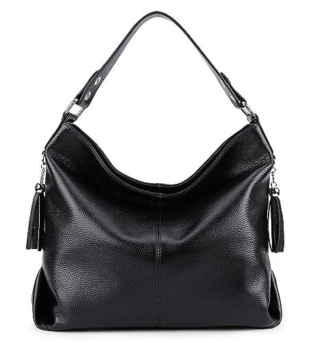 845ca134309d BIG SALE-AINIMOER Womens Leather Vintage Shoulder Bag Ladies Handbags Large  Tote Top-handle