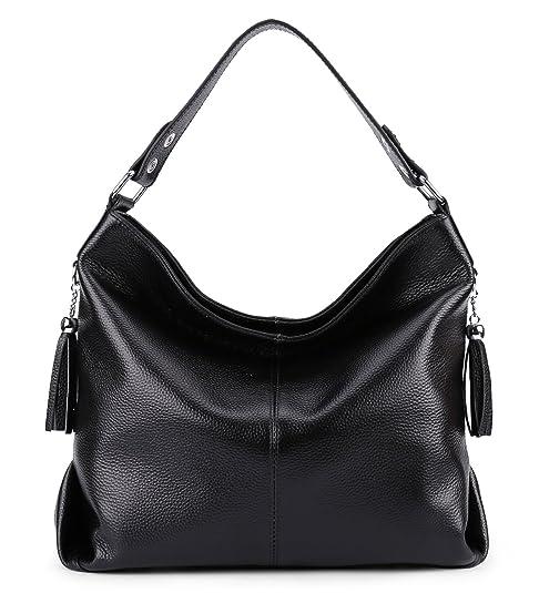 246a1c8a49d8d BIG SALE-AINIMOER Womens Leather Vintage Shoulder Bag Ladies Handbags Large  Tote Top-handle