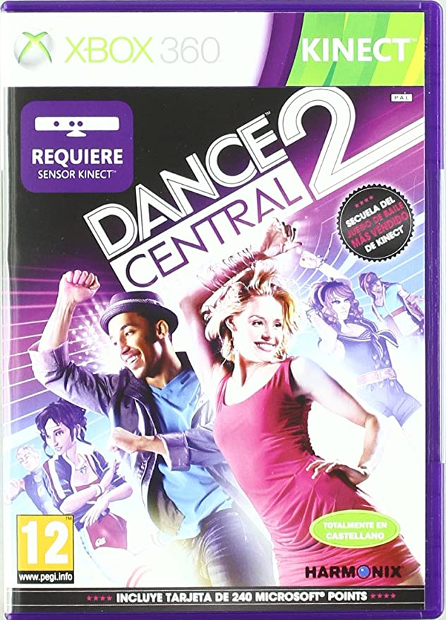 Kinect Dance Central 2 Amazon Es Videojuegos