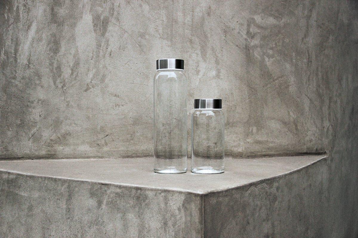 Kablo Glass Water Bottle 32 oz, 100% Borosilicate Glass by Kablo (Image #3)
