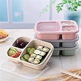 Wheat Microwave Bento Lunch Box
