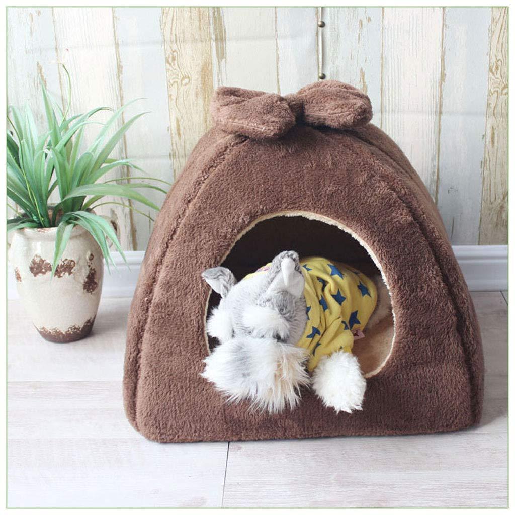 Cama para Mascotas/Nido Casa De Perro Pequeña Y Mediana Casa De Perro Teddy Chihuahua Cama para Perro Cuatro Estaciones Universal Adecuada para Gatos Y ...
