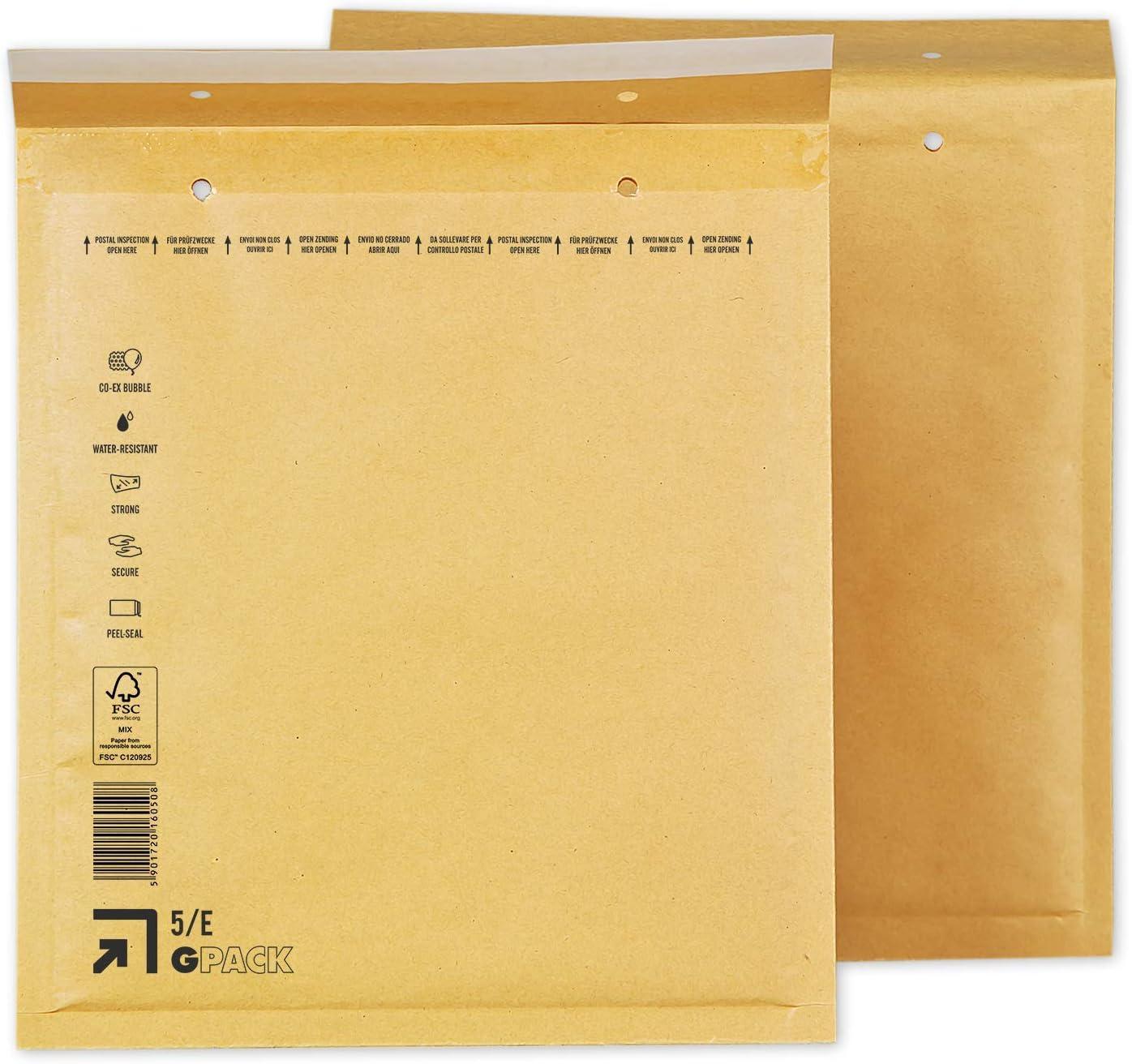 außen 140x230 100x Premium Luftpolster Versandtaschen gold Größe B2 120x220mm