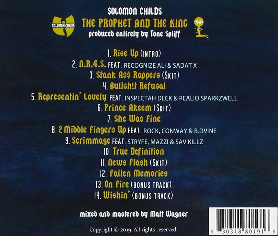 Solomon Childs - The Prophet & The King - Amazon com Music
