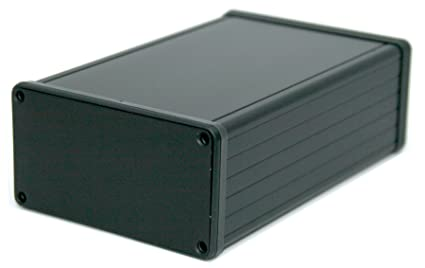amazon com box3 1455n bk black aluminum box for 3u sized pcbs