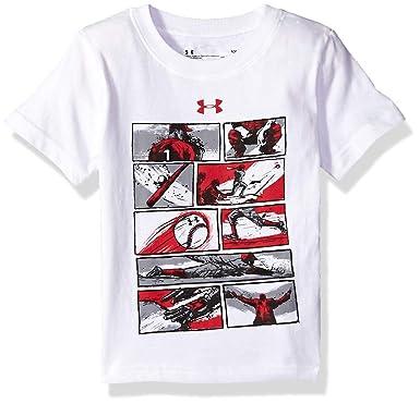 7a5b0ec3714 Amazon.com  Under Armour Boys  Short Sleeve Graphic Tee  Clothing