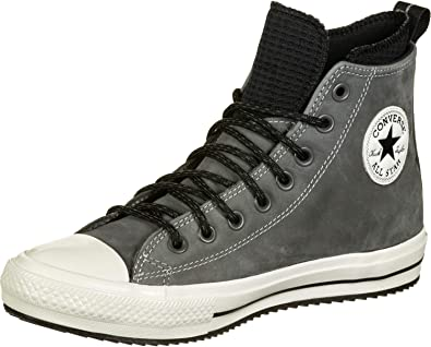 Converse Chuck Taylor All Star WP Boot Hi Baskets Mode Hommes Gris Baskets  Montantes
