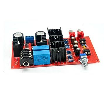 Hi-Fi Amplificador de auriculares amplificador de clase A NE5534 Junta DIY: Amazon.es: Electrónica