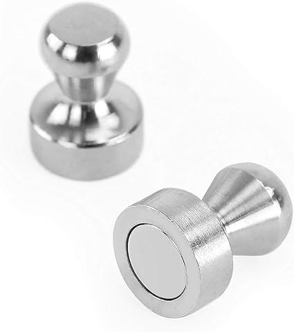 Whiteboard gro/ße Magnet Pins//Magnete f/ür Magnettafel Metallmagnete 14 St/ück K/ühlschrank