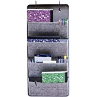 Elegant Wonders 4 Pocket Fabric Wall Organizer