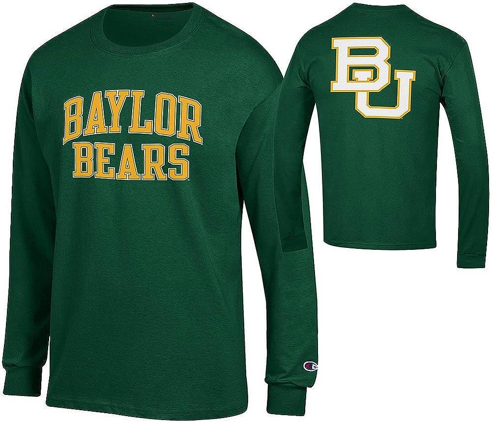 Elite Fan Shop NCAA Mens Front//Back Team Long Sleeve Tshirt