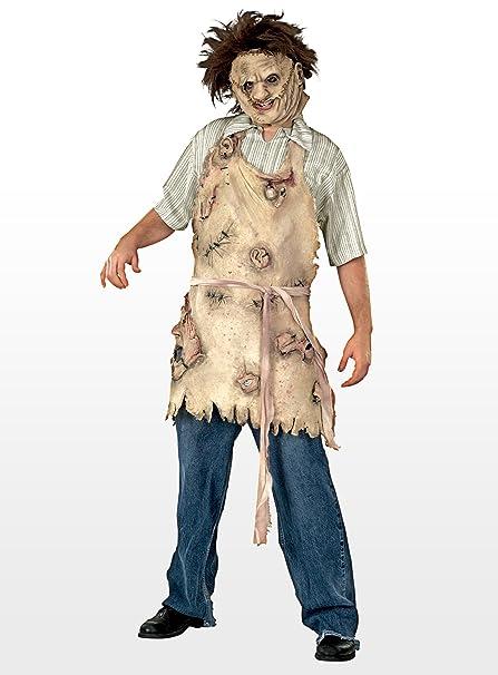 La matanza de Texas Leatherface Deluxe delantal - disfraz