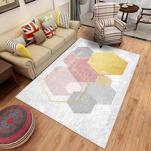 RUG Alfombra geométrica Impresa en 3D, tapete, Mesa de café ...