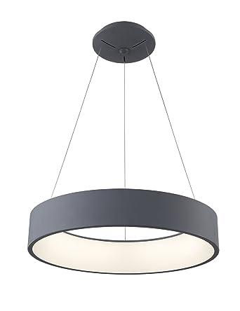 TXLighting Lámpara de Techo Moderna Plafon LED Colgante 27W ...