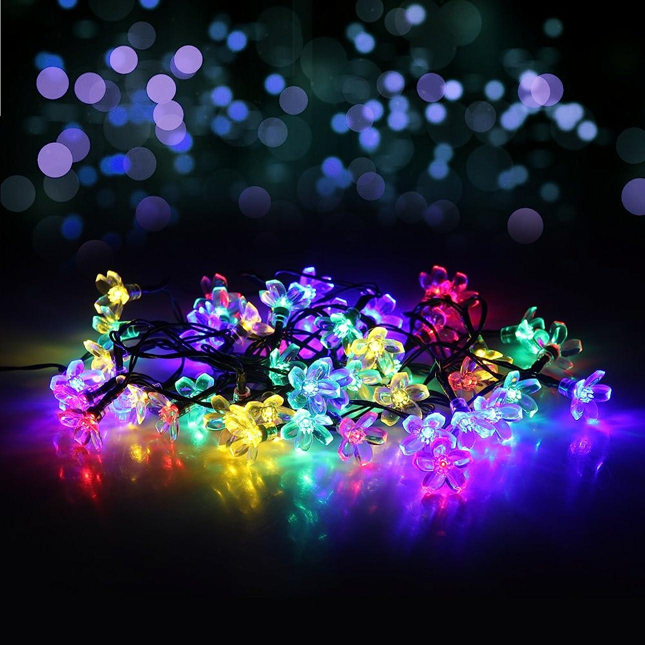 入り口広まった着飾るクリスマス 飾り ボール型 電池式 LED 2M 20LED 2モード点灯 電球 ストリングライト クリスマス LED イルミネーション クリスマス LEDライト クリスマス 装飾 置物 カラフル iitrust並行輸入品