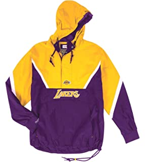 20ced6307f0 Amazon.com : Mitchell & Ness Los Angeles Lakers Team History Warm Up ...