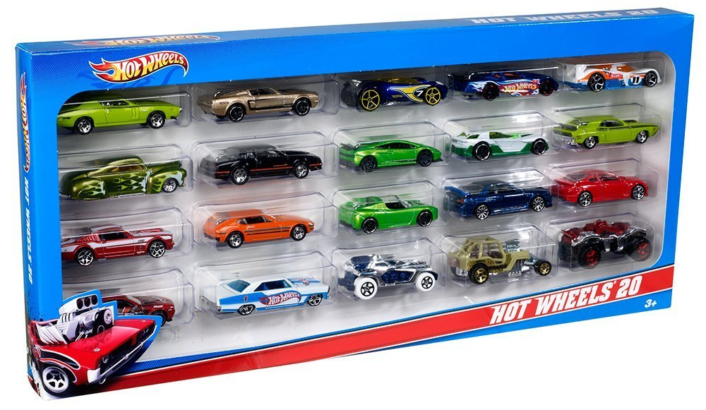 hot wheels a basic car pack of 20 mattel amazoncouk toys games